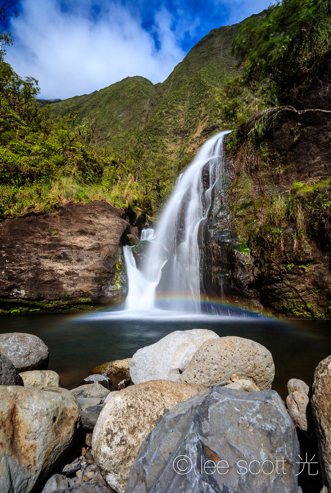 Guardian Falls and Rainbow
